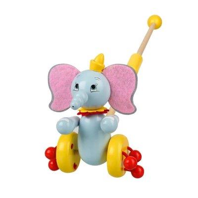 Orange Tree Toys Boxed Push Along - Dumbo