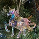Multi Colour & Clear Acrylic Trotting Unicorn Hanging Decoration