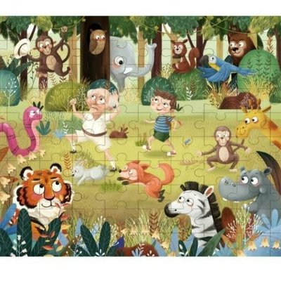 Tooky Toy Wooden Forest Puzzle 49pcs