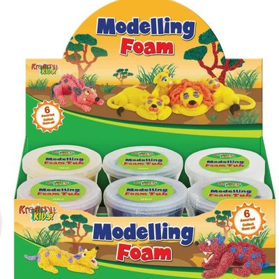 Kreative Kids Modelling Foam Tubs - Assorted