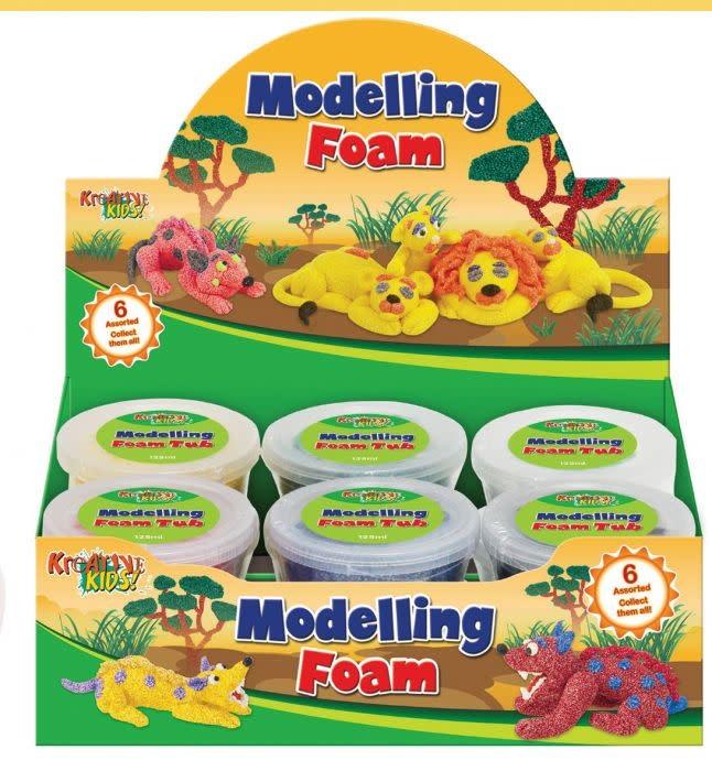 Kreative Kids Modelling Foam Tubs - Assorted