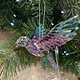 Multi Colour & Clear Hummingbird Hanging Decoration