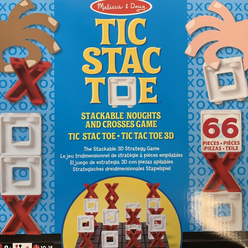 Melissa & Doug Tic Stac Toe Game