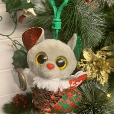 Ty Flippable Sequin Chipper the Mouse - Beanie BooKey Clip