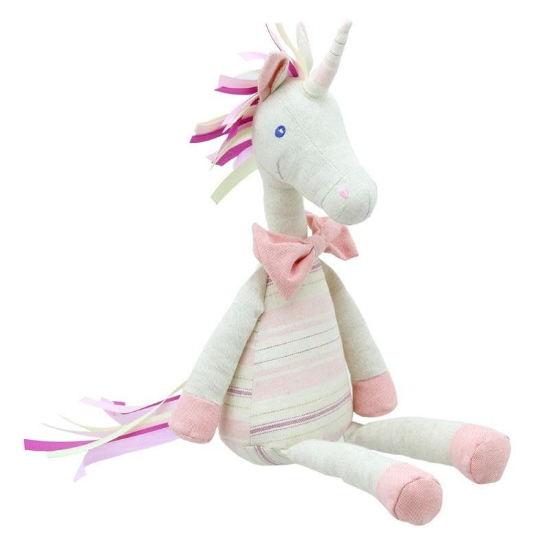 Wilberry Wilberry Linen - Unicorn Pink