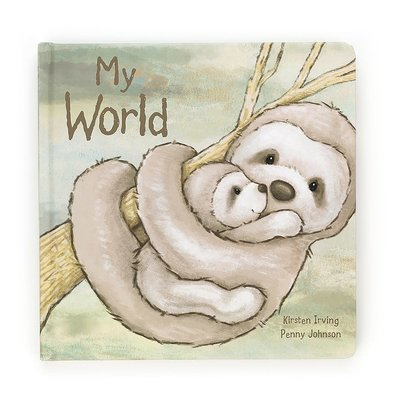 Jellycat - Story Book Jellycat - My World - Book