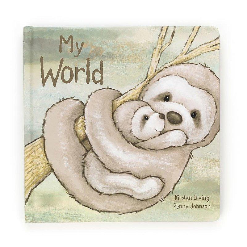 Jellycat - Story Book Jellycat - My World - Book