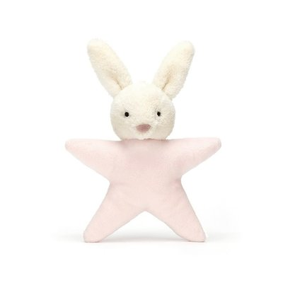 Jellycat - Baby Gift Jellycat - Star Bunny Pink - Rattle