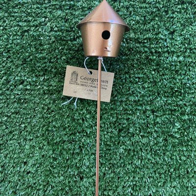 Fiddlehead Fiddlehead - Metal Bird House B