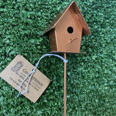 Fiddlehead Fiddlehead - Metal Bird House C