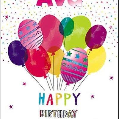 Treats & Smiles Personalised Birthday Card - Ava