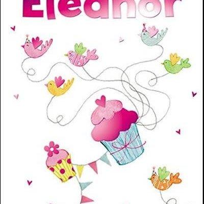Treats & Smiles Personalised Birthday Card - Eleanor