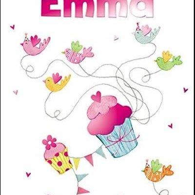 Treats & Smiles Personalised Birthday Card - Emma