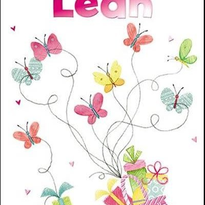Treats & Smiles Personalised Birthday Card - Leah