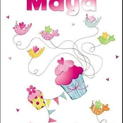 Treats & Smiles Personalised Birthday Card - Maya
