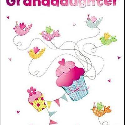 Treats & Smiles Personalised Birthday Card - Granddaughter