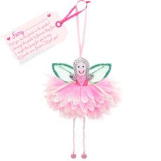 Flower Fairy Fairy .... (personalise) Pink Flower Fairy
