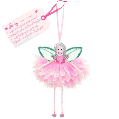Flower Fairy Fairy .... (personalise) Pink Flower Fairy