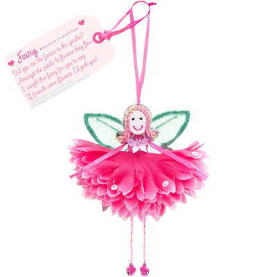 Flower Fairy Fairy .... (personalise) Fuchsia Flower Fairy