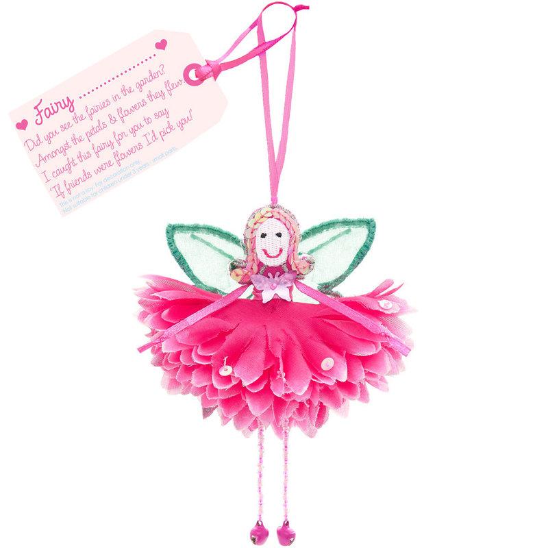 Flower Fairy Fairy .... (personalise) Fuchsia Flower Fairy