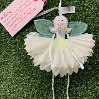 Flower Fairy Fairy .... (personalise) Cream Flower Fairy