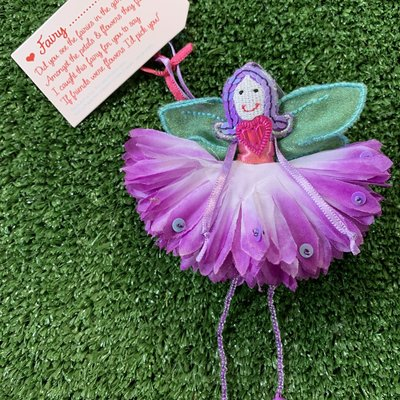 Flower Fairy Fairy ..... (personalise) Purple Flower Fairy