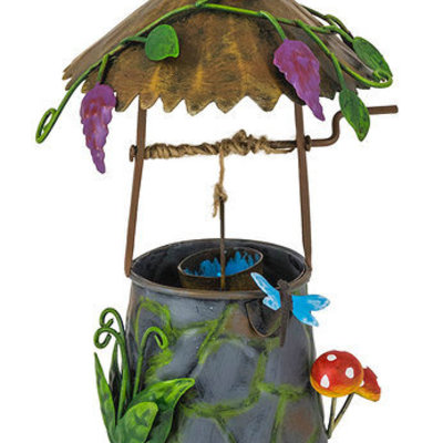 World of Make Believe Fairy Kingdom - Wishing Well with Toadstools