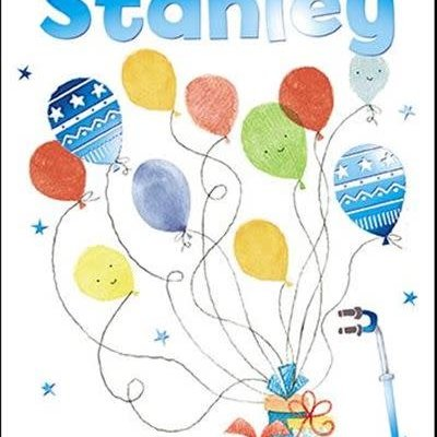 Treats & Smiles Personalised Birthday Card - Stanley