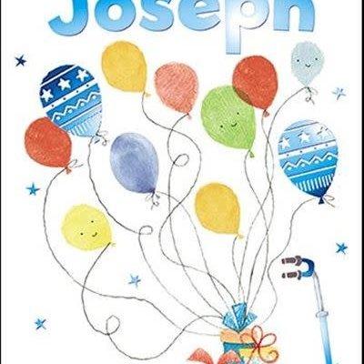 Treats & Smiles Personalised Birthday Card - Joseph