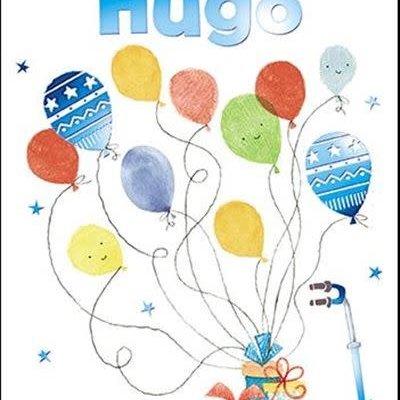 Treats & Smiles Personalised Birthday Card - Hugo