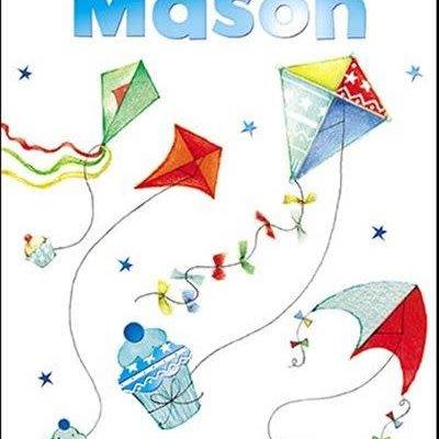Treats & Smiles Personalised Birthday Card - Mason