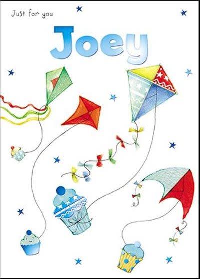Treats & Smiles Personalised Birthday Card - Joey