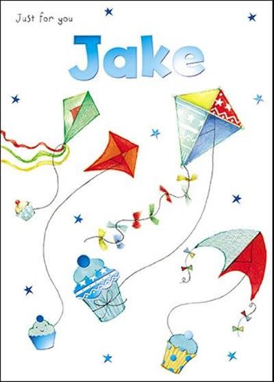Treats & Smiles Personalised Birthday Card - Jake