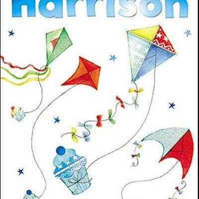 Treats & Smiles Personalised Birthday Card - Harrison