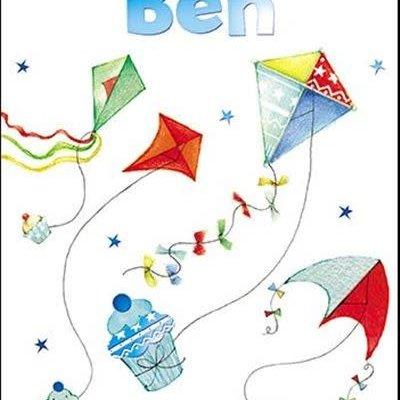 Treats & Smiles Personalised Birthday Card - Ben