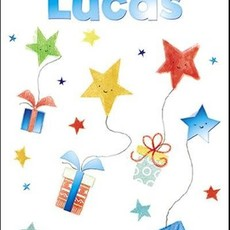 Treats & Smiles Personalised Birthday Card - Lucas