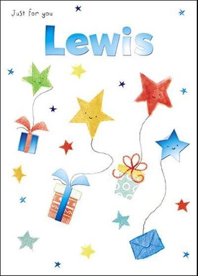 Treats & Smiles Personalised Birthday Card - Lewis