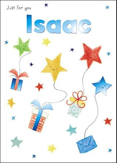 Treats & Smiles Personalised Birthday Card - Isaac
