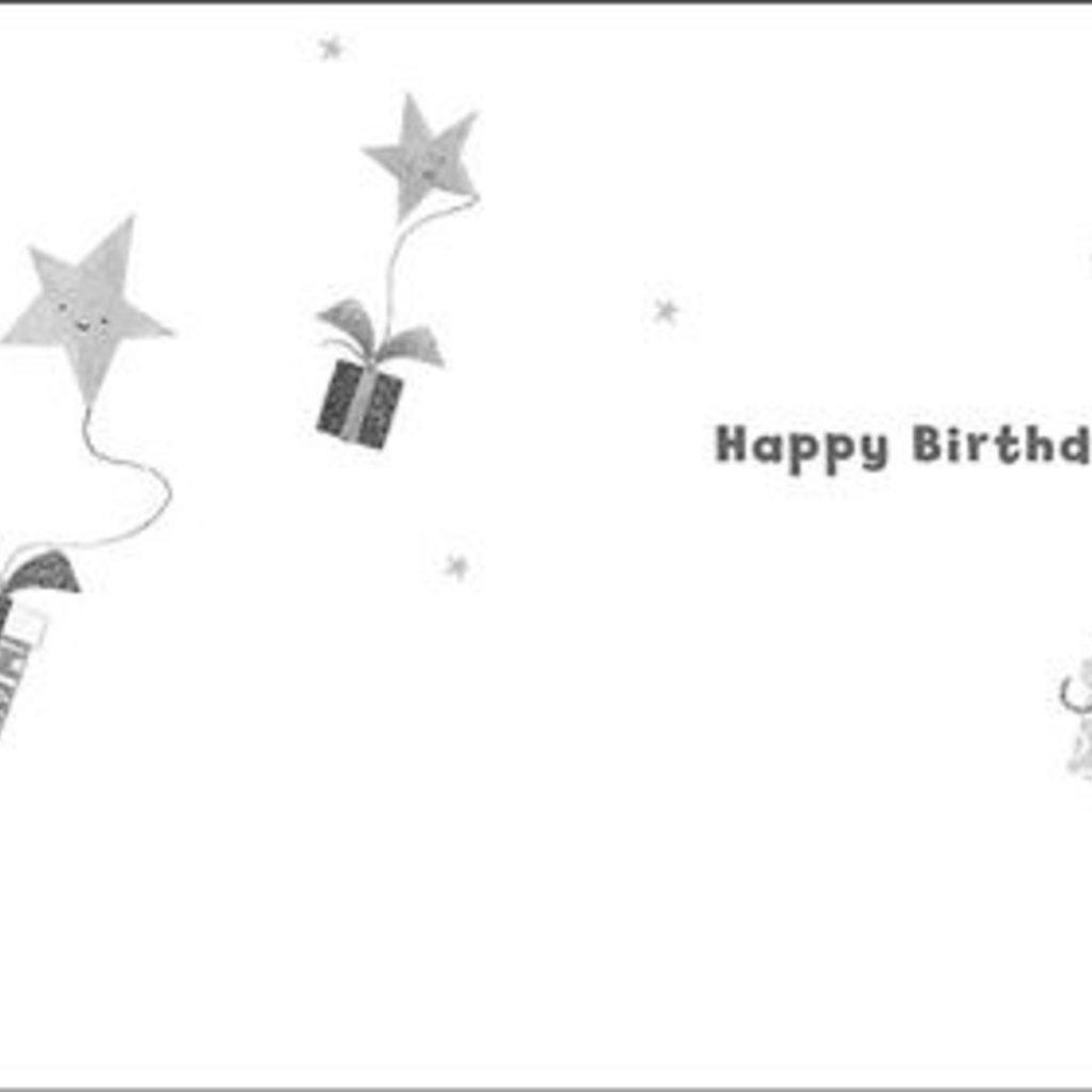 Treats & Smiles Personalised Birthday Card - Isaac