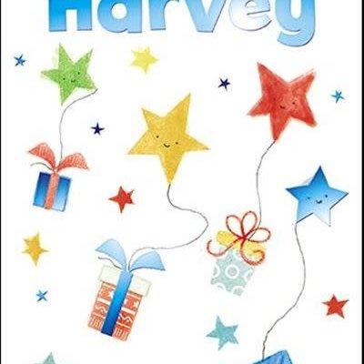 Treats & Smiles Personalised Birthday Card - Harvey