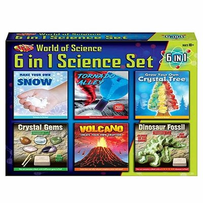 World of Science 6 in 1 Science Set