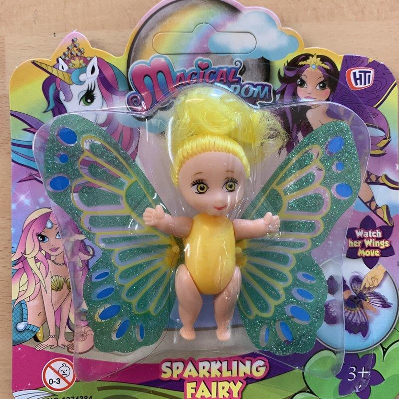 Hti Magical Kingdom Sparkling Fairy - Yellow
