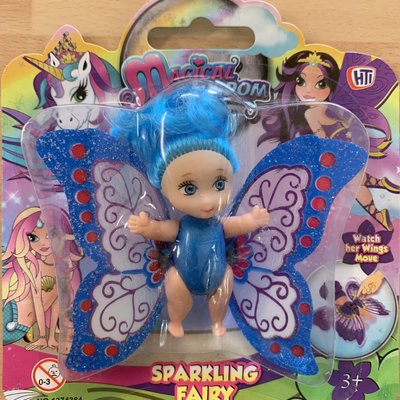 Hti Magical Kingdom Sparkling Fairy - Blue