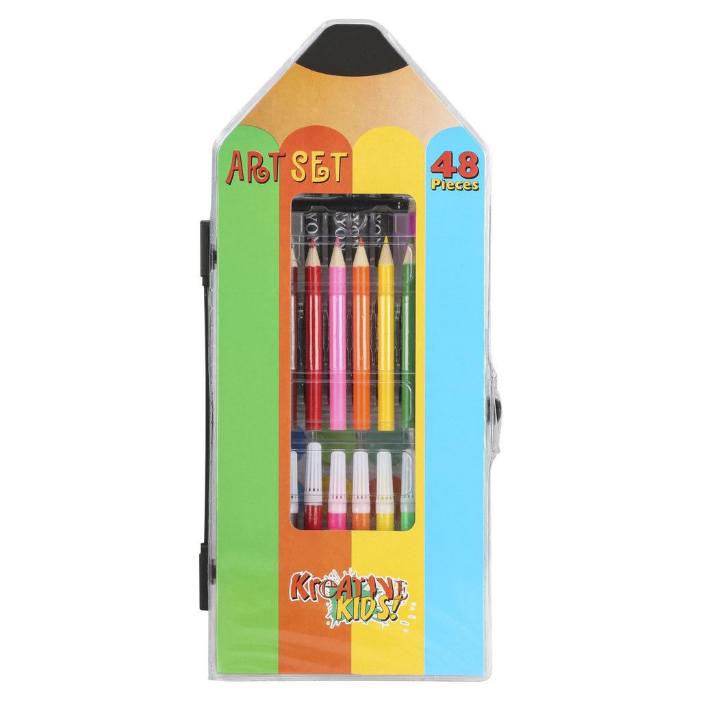 Kreative Kids 48 Piece Art Set
