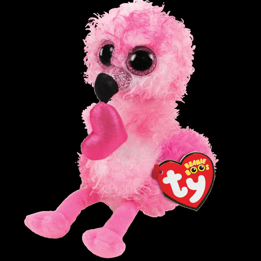 Ty Beanie Boo - Dainty the Flamingo