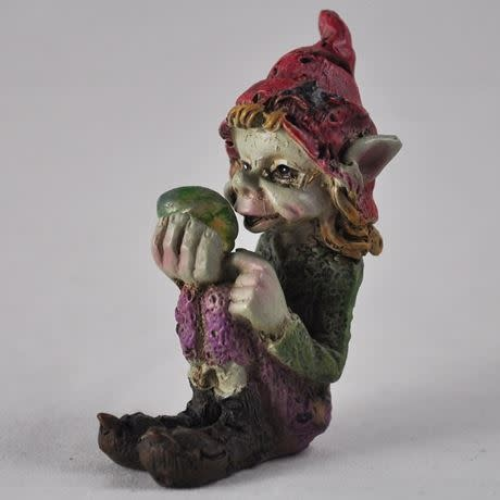 The Pixes Pixie Children of the Forest - Red Hat