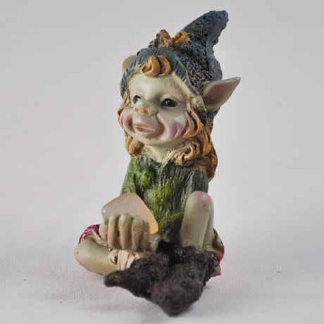 The Pixes Pixie Children of the Forest - Blue Hat