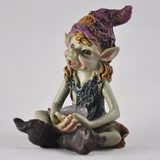 The Pixes Pixie Children of the Forest - Pink Hat