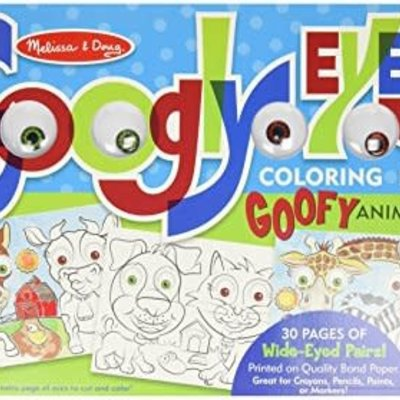 Melissa & Doug Googly Eyes - Animals Colouring Pad