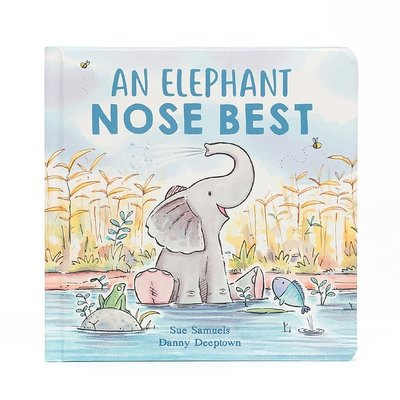 Jellycat - Story Book Jellycat - An Elephant Nose Best - Book